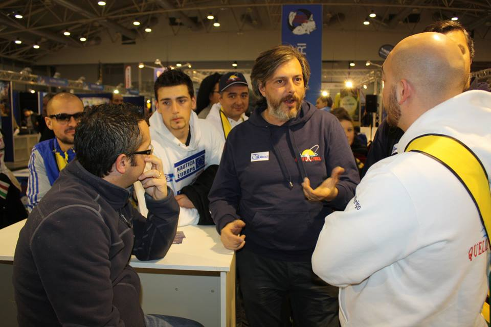 Massimiliano Bivi, Quellidellapescaroma, con Enrico Sassu alla World Fishing 2014
